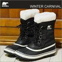 【あす楽対応】SOREL(ソレル)WINTER CARNIVAL(ウィンターカーニバル)ブラック [靴・ウインター ブーツ・シューズ]【smtb-td】
