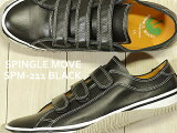 【あす楽対応】【返品無料対応】 SPINGLE MOVE スピングルムーヴ スピングルムーブ SPM-211 BLACK ブラック 靴 スニーカー ベルクロシューズ スピングル 【smtb-TD】【saitama】