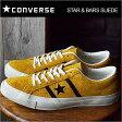 CONVERSE コンバース STAR&BARS SUEDE スター&バーズ スエード GOLD/BLACK ゴールド/ブラック 靴 スニーカー シューズ 復刻アレンジ