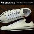 CONVERSE コンバース ALL STAR 100 COLORS OX オールスター 100 カラーズ OX WHITE ホワイト 靴 スニーカー シューズ