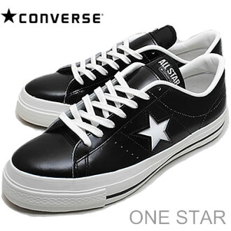 (Converse) CONVERSE ONE STAR J (one star) black/white