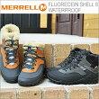 【あす楽対応】MERRELL(メレル)FLUORECEINSHELL6WATERPROOF(フロオレセインシェル6ウォータープルーフ)[靴・スニーカー・コンフォート・シューズ]
