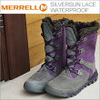 【あす楽対応】MERRELL(メレル)SILVERSUNLACEWATERPROOF(シルバーサンレースウォータープルーフ)WILDPLUM(ワイルドプラム)[靴・スニーカー・コンフォート・シューズ]