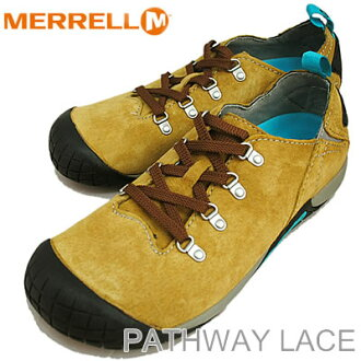 MERRELL( メレル) PATHWAY LACE Antelope