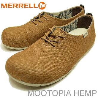 MERRELL (Merrell) MOOTOPIA HEMP (hemp ムートピア) BROWN (Brown)