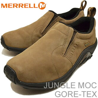 (Merrell) MERRELL 叢林 MOC 戈爾特斯 (叢林 MOC 戈爾特斯) 黑暗地球 (黑暗) [鞋及運動鞋鞋滑上]