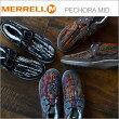 MERRELLメレルPECHORAMIDペコラミッドレディース靴スニーカーコンフォートシューズ
