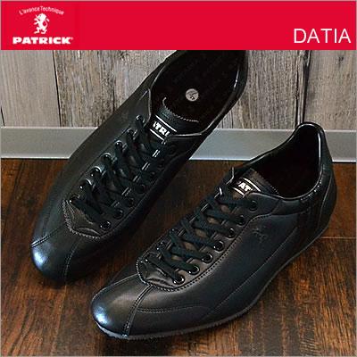 PATRICK パトリック DATIA ダチア BLK ブラック 靴 スニーカー シューズ 【smtb-...