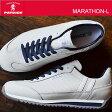 【返品無料対応】 PATRICK パトリック MARATHON-L マラソン・レザー W/N ホワイト/ネイビー 靴 スニーカー シューズ 【smtb-TD】【saitama】【楽ギフ_包装】