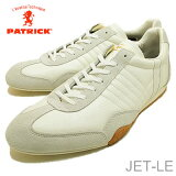 【あす楽対応】【返品無料対応】 PATRICK パトリック JET-LE ジェット レザー ホワイト 靴 スニーカー シューズ