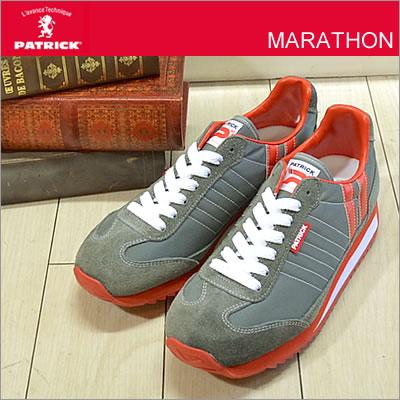 PATRICK パトリック MARATHON マラソン GRY グレー 靴 ...