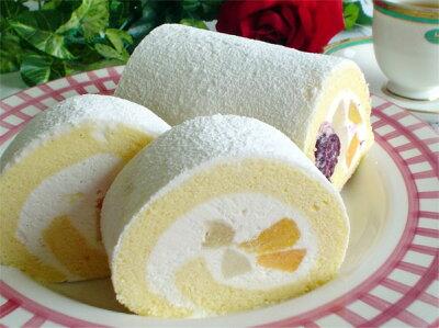 フルーツロールケーキ【送料無料】北海道のフルーツたっぷり サンドミニック フルーツロール...