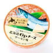 雪印北海道6pチーズサーモン味おつまみオードブルにおすすめ