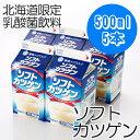 北海道のご当地乳酸菌飲料がっちりマンデーで紹介【雪印メグミルク】ソフトカツゲン 500ml×5...