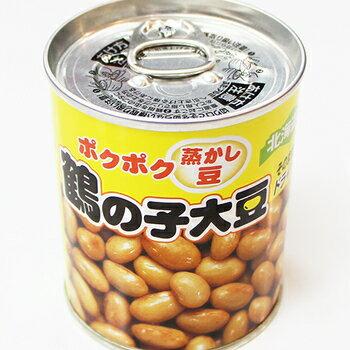 杉野フーズ株式会社 ポクポク蒸かし豆 鶴の子大豆 / 大豆 おつまみ 蒸し豆 缶詰