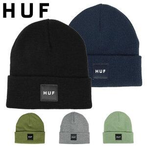 HUFハフニット帽ニットキャップメンズボックスロゴ帽子ビーニースケーターブランドストリート
