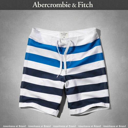 アバクロ Abercrombie&Fitch■正規品 A&F Classic Fit Board Shorts スイ...