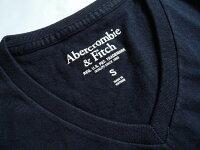 【送料無料】Abercrombie&Fitchアバクロ■正規品【メンズ】ロゴ刺繍リンガーデストロイ半袖Tシャツ■White(ホワイト)【smtb-k】【kb】