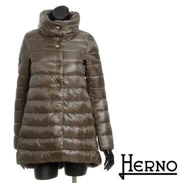 \スーパーSALE/【送料無料】【HERNO】ヘルノ/ミドル丈ダウンコート/スタンドカラー/超軽量/高級感のある上品なデザイン/PI0331D/12017[4128k]