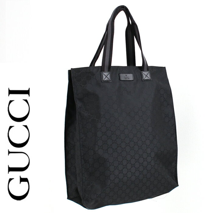 ff56210454d9 【送料無料】【GUCCI】グッチ/ナイロンGG/レザー縦長トートバッグ/GG柄/GGマーク/449177 G1XHN 8615[5111bkss]  GUCCI/グッチ/トートバッグ/ナイロン/バッグ/GG柄/ ...