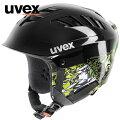 uvexウベックスX-ridejuniormotion[566127]ブラック/グリーン【キッズ・ジュニア】【S019】【スキーヘルメット】