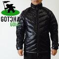 ガチャゴルフ/ストレッチ切り替えダウンジャケット3/ブラック/GOTCHAGOLF/173GG1702-09