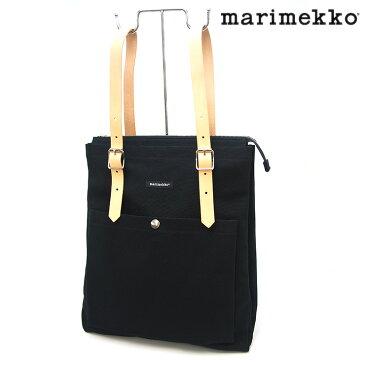 MARIMEKKO マリメッコ EPPU NORMILAUKUT 2wayバックパック backpack ショルダーバッグ トートバッグ ブラック/BLACK 040006 900