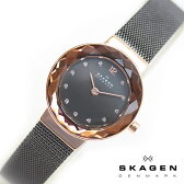 SKAGEN スカーゲン STEEL スチール レディース 腕時計 26mm グレー×ローズゴールド 456SRM スカーゲン 腕時計 レディース