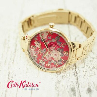 CathKidstonキャスキッドソン腕時計レディース36mmガーデンローズゴールドレディースウォッチCKL001GM