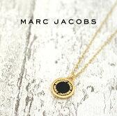 MARC JACOBS マークジェイコブス ネックレス ENAMEL DISC ゴールド×ブラック M0008546 062 マークバイマークジェイコブス ネックレス