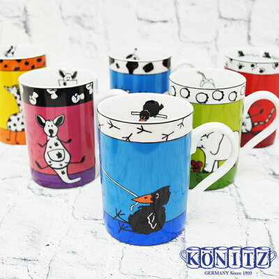 KONITZコーニッツマグカップ320mlアニマルストーリーズ全10デザインKONITZAnimalStories