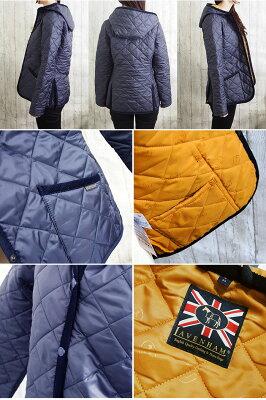 LAVENHAMラベンハムレディースフーデッドキルティングジャケットCRAYTONクレイトン全2色ラベンハムキルティングコート