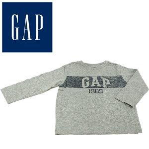 baby GAP ベビーギャップ ロンT 長袖Tシャツ グレー 90cm 18-24ヶ月 子供服 子供用 キッズ