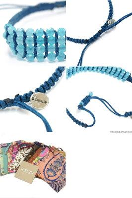 【正規品】【即納】CHANLUUチャンルー(CHANLUUチャンルー)BRACELETブレスレットBS3587全6色RED/BLUE/LAVENDER/AQUA/PINK/TURQUOISE