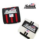 Schiek シーク リストラップ 24インチ(約60cm) 全2色 トレーニング リストラップ 筋トレ ジム 手首 固定 サポーター 左右1組セット