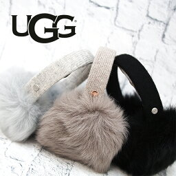 UGG アグ スピーカー付き ロングファーイヤーマフラー イヤマフ 耳あて シープスキン スピーカー内蔵(マイク付) 全3色