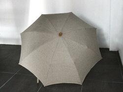 日傘リネンパラソル(折りたたみ無地)