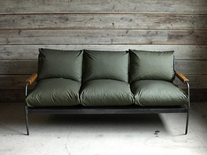 [スーパーセール]socph 3seat sofa ソコフ 3シート ソファ 3人掛けの塩系 男前インテリアに合うメンズライクなソファ 3P[ポイント10倍 クーポン利用可]:a.depeche アデペシュ
