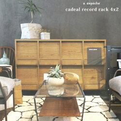 カデルレコードラック4x2