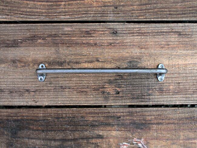 iron towel holder(S)アイアン タオルホルダー(S)クリア ヴィンテージなアイアンタオルハンガー DIY アデペシュ