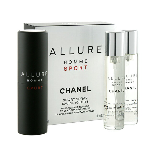 美容・コスメ・香水, 香水・フレグランス CHANEL ALLURE HOMME SPORTEAU DE TOILETTE 20ml3 SPORT SPRAY 1 2CHANEL