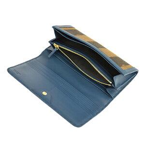 FENDI8M0298-00Q0Z-FOE6Vフェンディ長財布ブラウン×ブルー