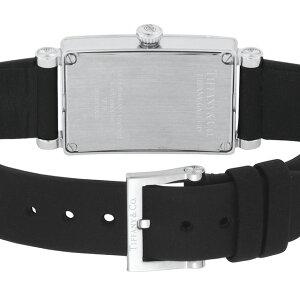 TiffanyZ3000.10.10E10C68AティファニーGalleryレディース腕時計ブラック×シルバー