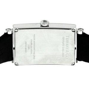 TiffanyZ3002.10.10A21A68AティファニーGalleryメンズ腕時計ブラック×シルバー