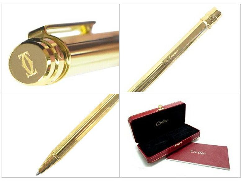 CARTIER(カルティエ)『サントスドゥカルティエガドルーンモチーフボールペン(OP000060)』