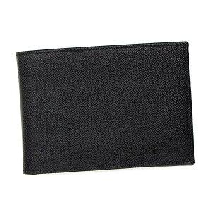 PRADA2M0002SAFFIANOプラダ二折小銭財布レザーブラック