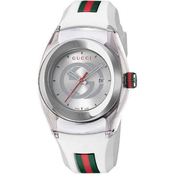 腕時計, 男女兼用腕時計 GUCCI YA137302 SYNC WHITE WATCH