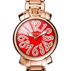 Gaga Milano 6021.6MANUALE 35MM 18K PVD Gaga Milano Manure 35 Кварцевые наручные часы унисекс, нержавеющая розовое золото × оранжевый