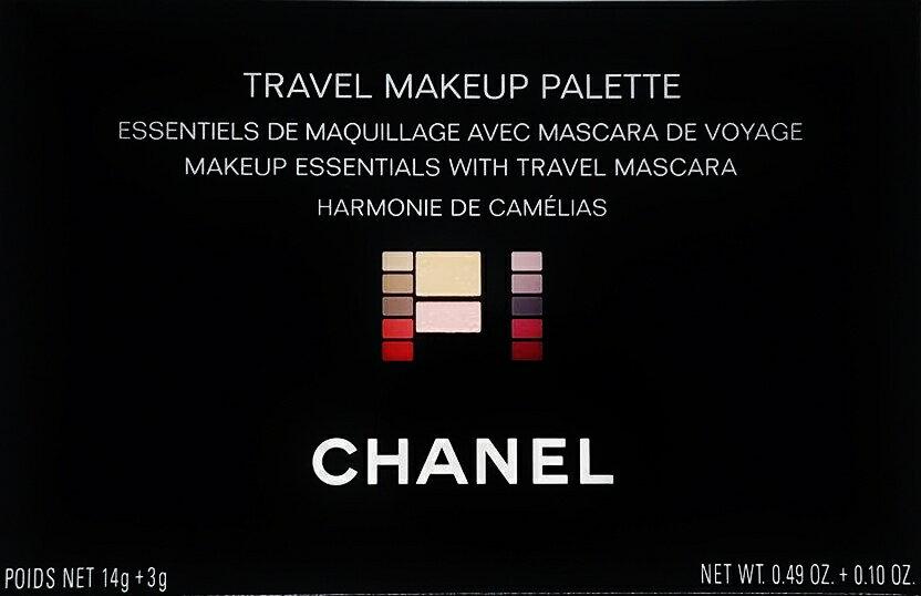 ベースメイク・メイクアップ, セット CHANEL TRAVEL MAKEUP PALETTEHARMONIE DE CAMELIAS 5