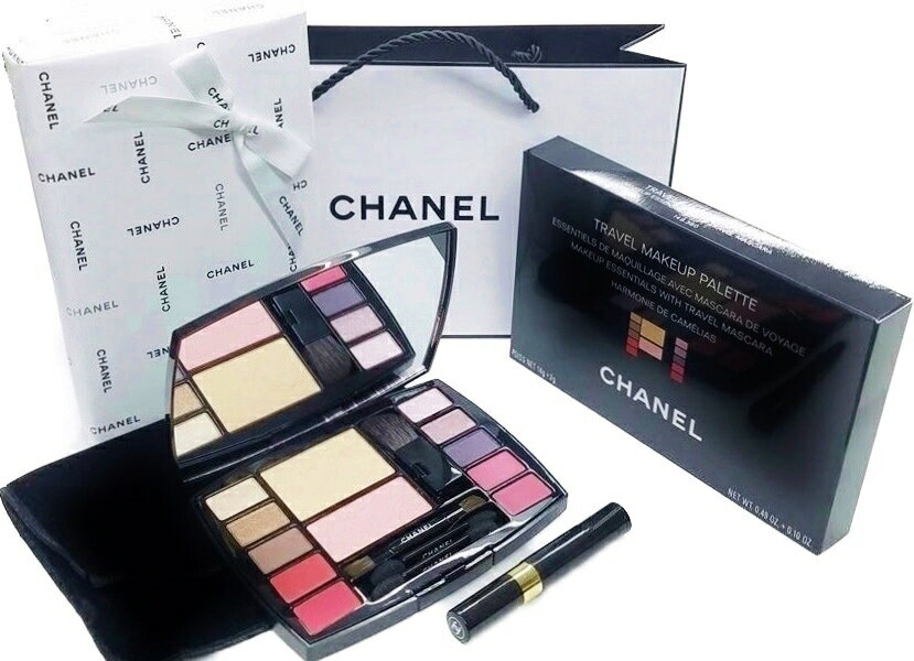 ベースメイク・メイクアップ, セット CHANEL TRAVEL MAKEUP PALETTEHARMONIE DE CAMELIAS 5